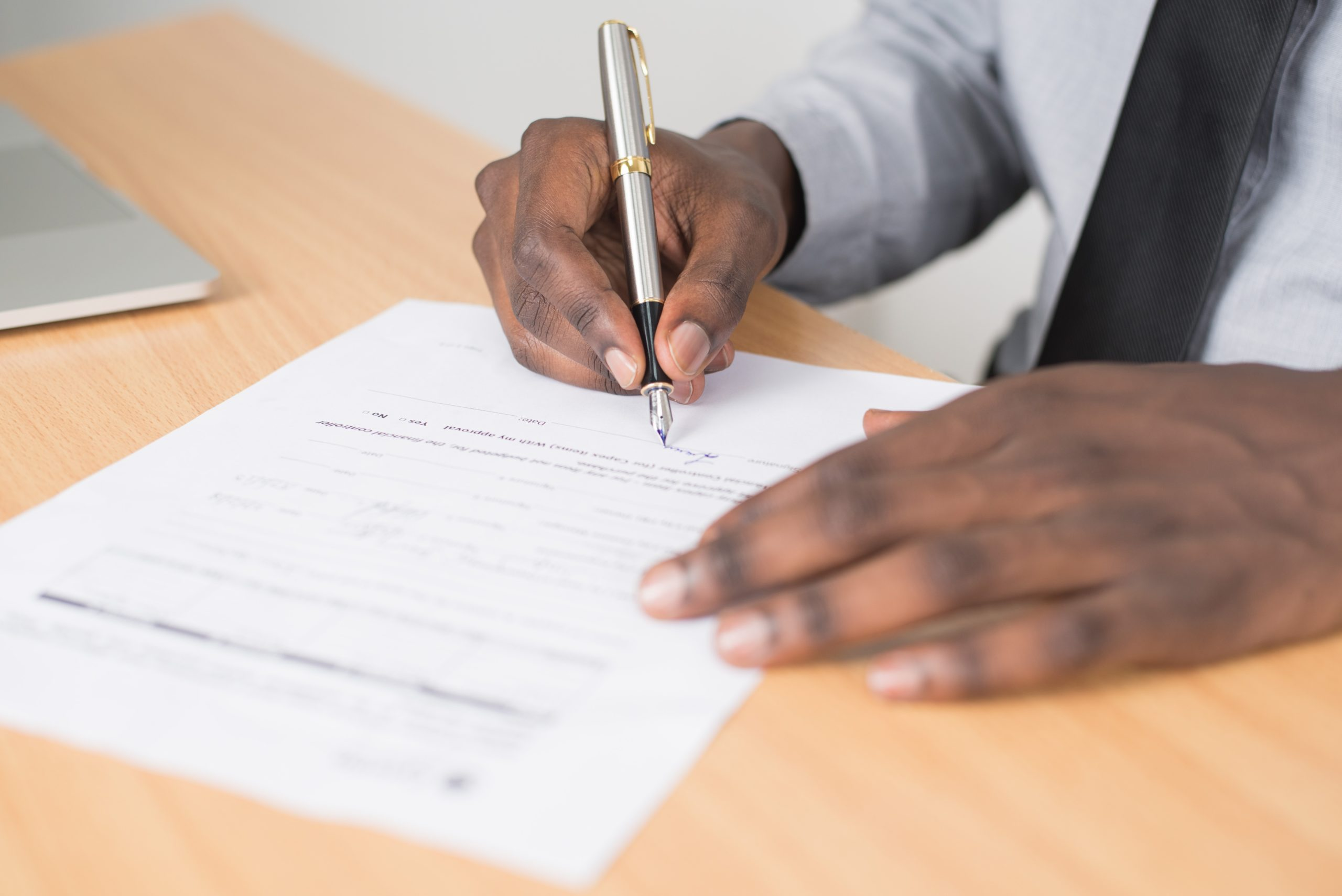 Signed Contracts with each client